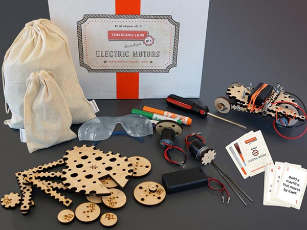 Electric Motors Catalyst Class Pack | Tinkering Labs