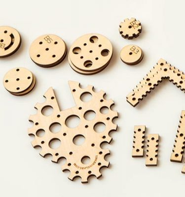 Tinkering Labs spare wood parts