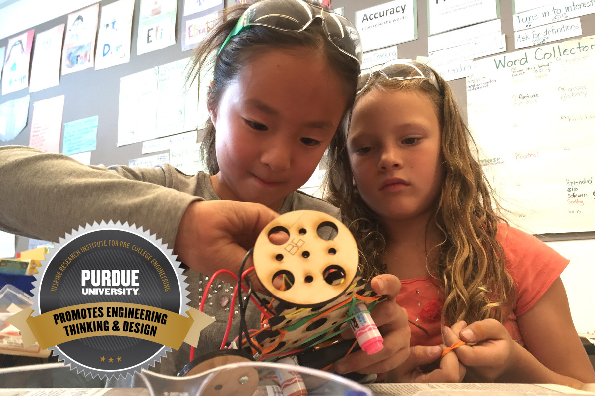 Purdue University Seal Promotes Engineering Thinking and Design
