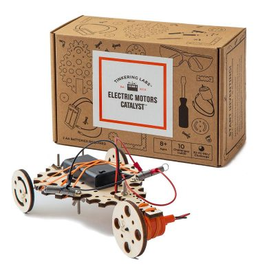 Tinkering Labs Box and Invention