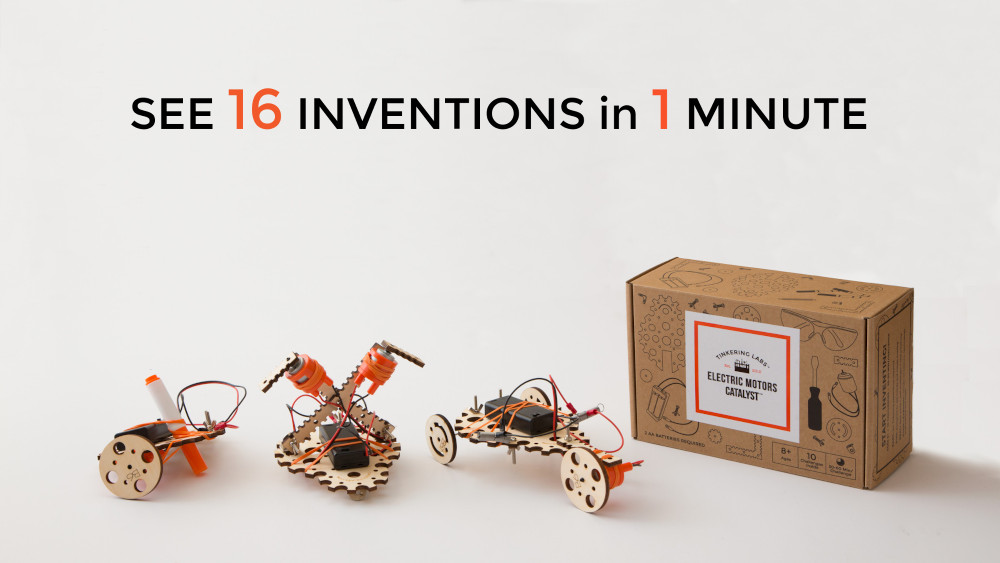 16 Inventions in One Minute