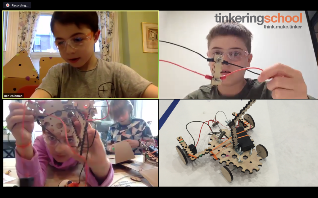 Online Tinkering Camp